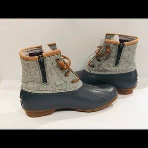 Sperry Saltwater Emboss Wool Duck Boots